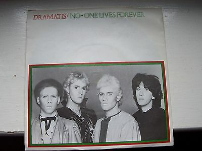 Dramatis, No-One Lives Forever / For Future Reference. 1981 Rocket Record