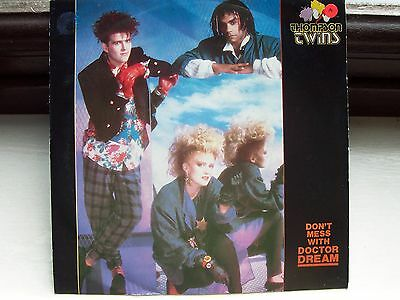 The Thompson Twins, Don't Mess With Dr. Dream. Rare 1985 Italian Issue Single