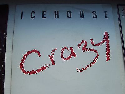 Icehouse, Crazy / Completely Gone. Original 1987 Chrysalis Single
