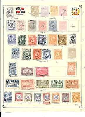 Dominican Republic - 775+ assorted stamps on pgs.