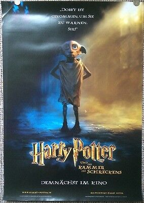 Harry Potter And The Chamber Of Secrets Original Teaser Poster