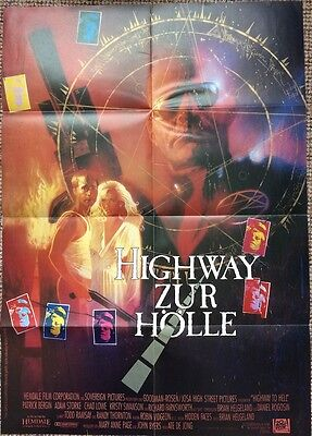 Highway To Hell Original Poster Rare Cult Horror