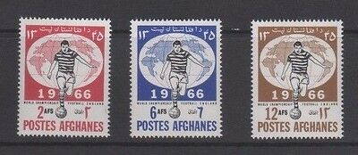 Afghanistan 1966 World Cup Football Mint Set