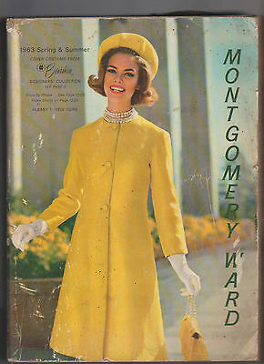 Montgomery Ward Catalog Spring & Summer 1963 Clothing Fashion