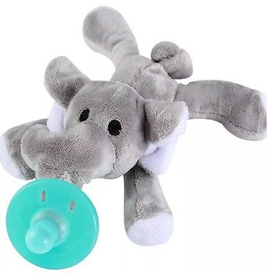 New Elephant WUBBANUB Infant Baby Soothie PACIFIER