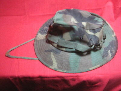 Us Army Type Ii Camouflage Camo Jungle Hat Mil-Type-J-44321 Size Xl