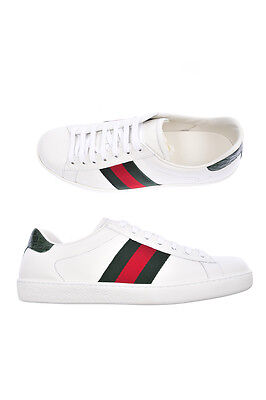 Scarpe Gucci Shoes % Pelle MADE IN ITALY Uomo Bianco 386750A3830-9071