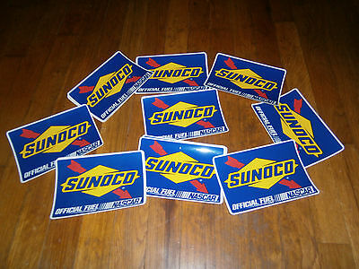 Lot of 16 Sunoco Official Fuel of NASCAR Sticker
