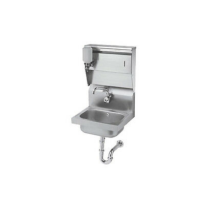 "Krowne Metal HS-13 16""W Wall Mounted Hand Sink w/ Electronic Faucet"