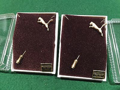 Lot of 2 Vintage Puma Sneakers Stick Pins