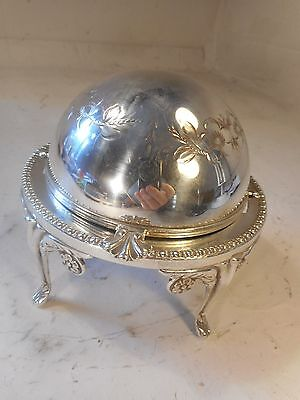 Quality Silver Plate Butter Dish