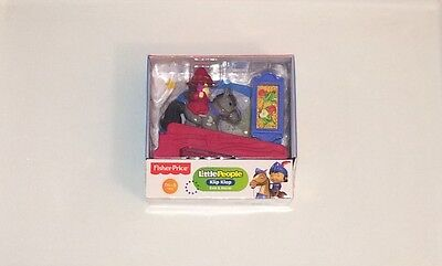 NIB Fisher-Price Little People Mike The Knight Klip Klop Evie Figure Pack