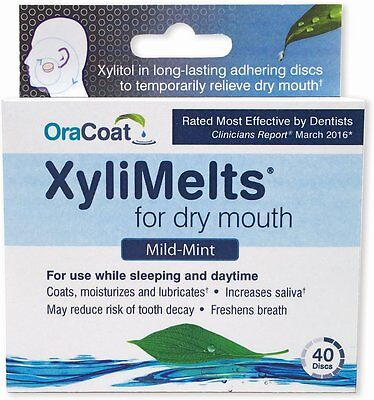 XyliMelts Discs for Dry Mouth 40 Mints
