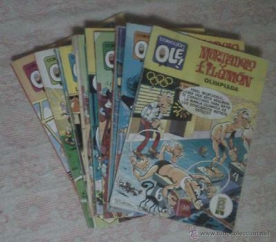 Comic Mortadelo y Filemon - Coleccion Ole: Lote de 20 numeros