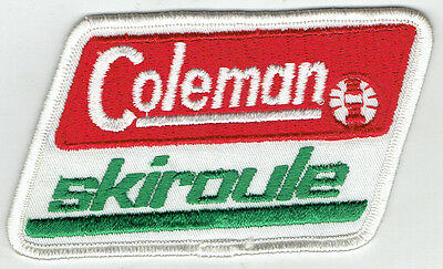 Coleman Skiroule Snowmobile Cloth Patch