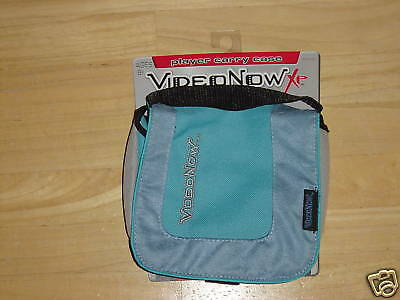 NWT VideoNow XP Player Blue Carry Case NEW Video Now