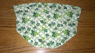 Tall Tissue Basket Liner from Longaberger Lucky You St Patrick's fabric.  Irish!