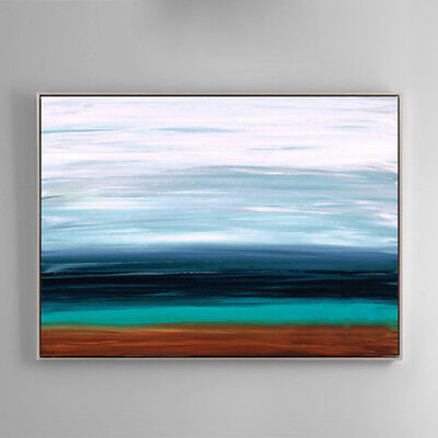 Hand-Painted Oil Painting - Transition | Modern Abstract Decor Unframed Wall Art