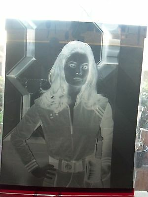 V VISTORS SCI-FI TV SHOW JANE BADLER PORTRAIT #1 NEGATIVE promo b&w movie photo