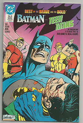 Best Of The Brave And The Bold # 6 * Batman & Teen Titans * Neal Adams