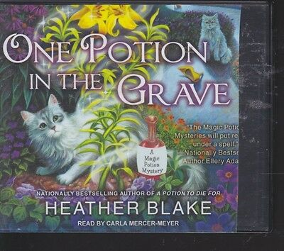 ONE POTION IN THE GRAVE by HEATHER BLAKE~UNABRIDGED CD AUDIOBOOK