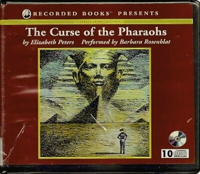 THE CURSE OF THE PHARAOHS by ELIZABETH PETERS ~ UNABRIDGED CD'S AUDIOBOOK