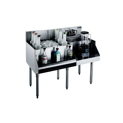 "Krowne Metal Royal 1800 Series 48""w Underbar Ice Bin/cocktail Station - Kr18-W48"