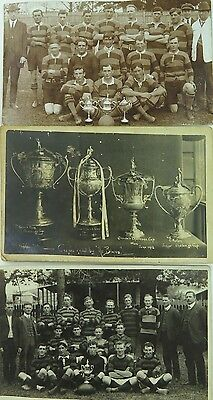 Rare Lot Candelo , Nsw Real Photo Early 1900'S Sporting Postcards