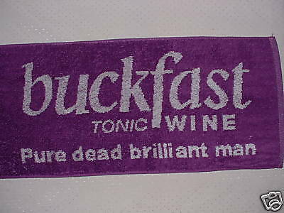 BUCKFAST TONIC WINE Bar Towel - New and ULTRA RARE