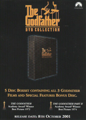 The Godfather Trilogy DVD (2001) Al Pacino
