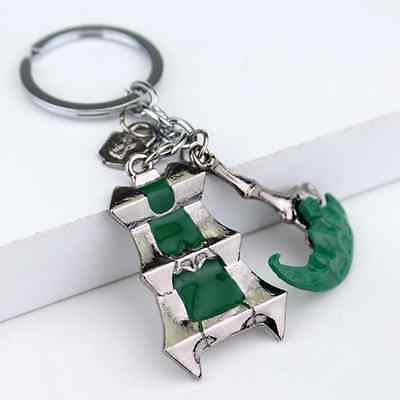 New 1pc KeyChain League of Legends The Chain Warden Thresh's weapon KeyRing Gift