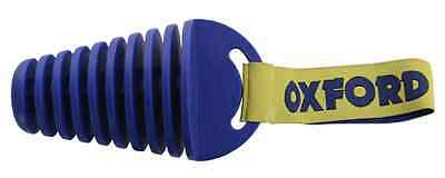 Oxford 4 Stroke Motocross Motorcycle Off Road Blue Exhaust Bung Plug Ox186