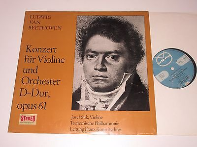 LP/BEETHOVEN/VIOLINE UND ORCH/SUK/KONWITSCHNY/Fono-Ring SFGLP 77818 STEREO