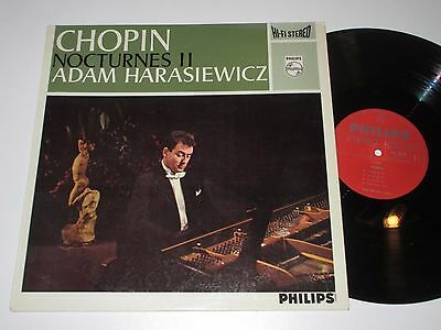 LP/CHOPIN NOCTURNES II/HARASIEWICZ/Philips 835 219 AY Stereo