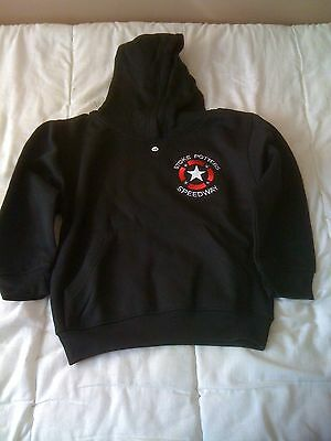 2016 Stoke Potters Speedway Kids Hoodie  With Logo ( New Still In Bag )