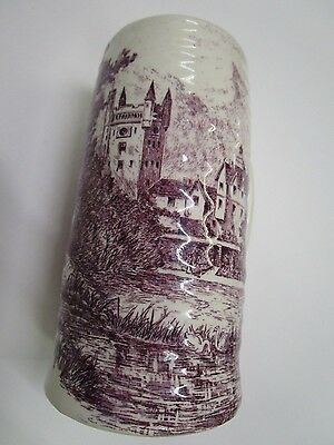 "Royal Staffordshire ""Balmoral Castle"" Large Ceramic Stein"