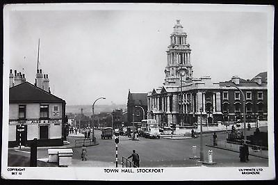 Old Real Photo Postcard - Stockport, Cheshire - 1962