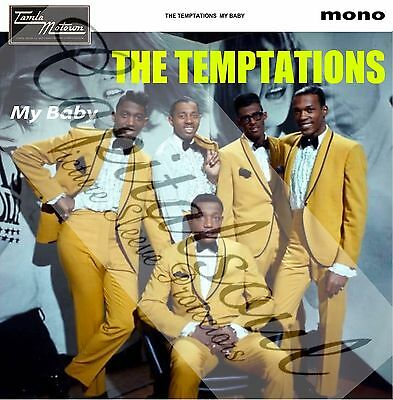 60S Mod Soul Tamla Motown The Temptations My Baby Picture Sleeve