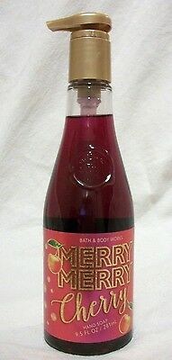 Bath & Body Works Merry, Berry, Cherry Hand Soap.