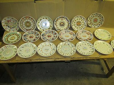 Lovely Wedgwood 10 inch diameter calendar plates job lot
