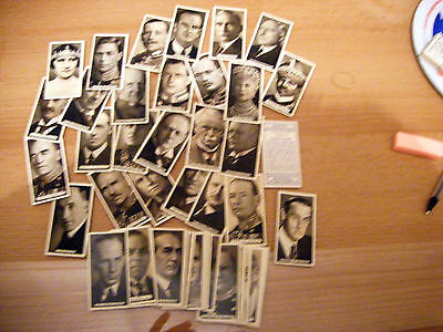"Pick-A-Card From Ardaths ""empire Personalities""  1937"