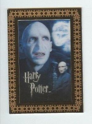Harry Potter 3D 2nd Case Topper Card CT1 Lord Voldemort