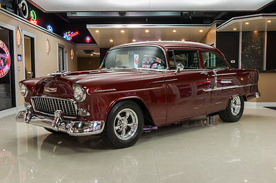 1955 Chevrolet Bel Air/150/210  Frame Off Restored! 355ci V8 Engine, TH400 Auto, Custom Interior, PS, PB, Disc!