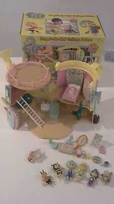 Fifi and The Flower Tots Forget Me Not Watering Can House Cottage with box