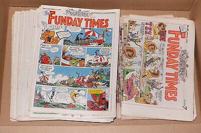 The Funday Times - Over 60 issues 1989 to 1991 Sunday Comic Strips