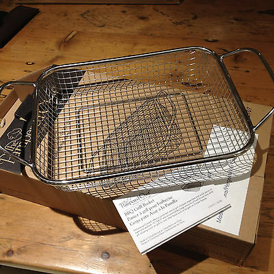 New And Boxed Pampered  Chef  Bbq Grill Basket