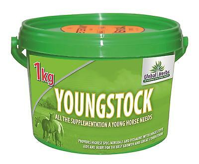 1kg YOUNGSTOCK global herbs  promote healthy development