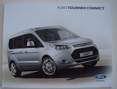 Ford . Tourneo . Tourneo Connect . January 2016 Sales Brochure