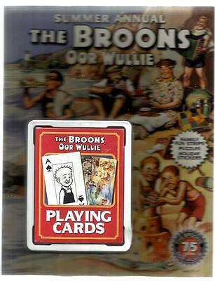 Broons And Oor Wullie Summer Annual. With Free Playing Cards. 2010. Very Good