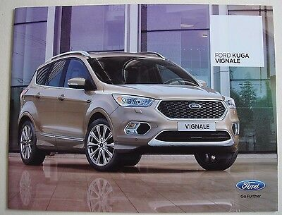 Ford . Kuga . Ford Kuga Vignale . August 2016 Sales Brochure